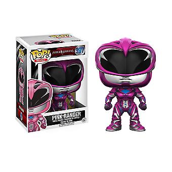 Power Rangers film Pink Ranger Funko pop vinyl figur