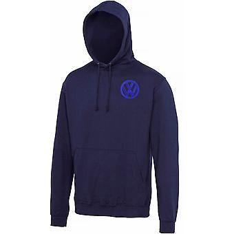 VW Motor Car Motoring - Logo - Blau Weiß - Hoody