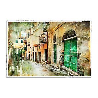 Deco Panel, Old city street