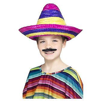 Jongens Sombrero hoed Mexicaans Spaans Fancy Dress accessoire