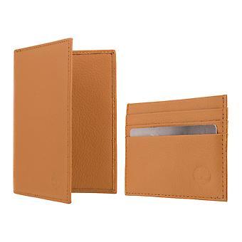 Timberland TRAVELLER GIFT SET BOX Geldbörse mit Kartenetui Cognac 8226