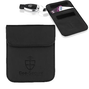 BEE-SECURE RFID Signal Key Blocking Wallet