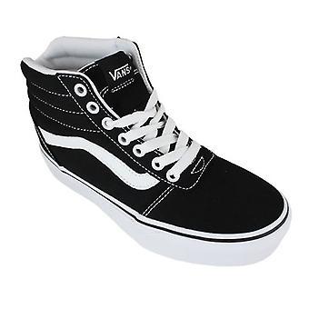 Vans Casual Sneakers Vans Ward Hi Piattaforma Canvas Nero/bianco 0000160446_0