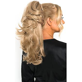 IKRUSH Womens Layla Layered Curly Ponytail Hair Extensions