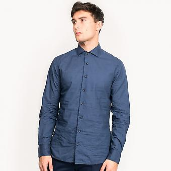 Hackett Target Print Mens Shirt