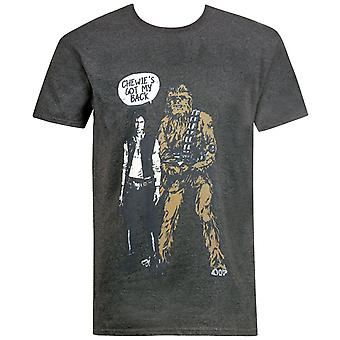 Star Wars Chewy-apos;s Got My Back Men-apos;s T-Shirt