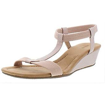 Alfani kvinners Voyage åpen tå casual plattform sandaler, støvete Rose, størrelse 10,5...