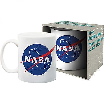 NASA-Logo 11oz weiß Becher