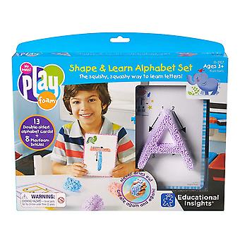 Learning Resources - Playfoam Shape ,Learn Alphabet Set