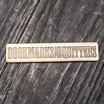 Bookmarks are for quitters - bookmark