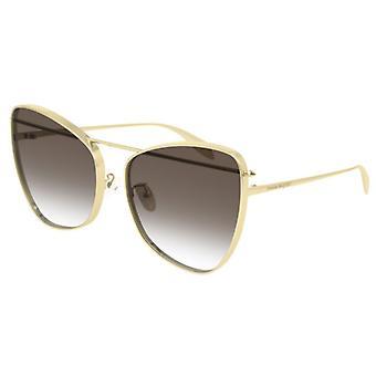 Alexander McQueen AM0228S Golden Brown Degradado