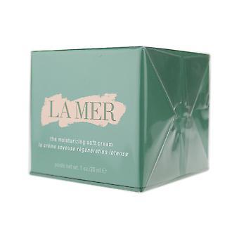 La Mer die feuchtigkeitsspendende weiche Creme 1oz / 30ml neu In Box