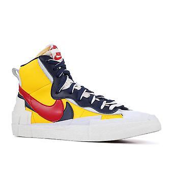 Nike X Sacai Blazer High ' Snow Beach '-Bv0072-700-kengät