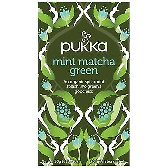 Pukka Mint Matcha Green Tea Bags 80