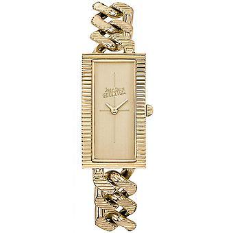 Montre Jean-Paul Gaultier 8506304 - Bo�tier Acier Dor� Bracelet Acier Dor� Cadran Or Femme