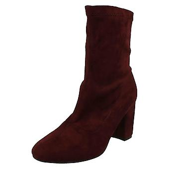 Ladies Anne Michelle Pull On Ankle Boots F50681