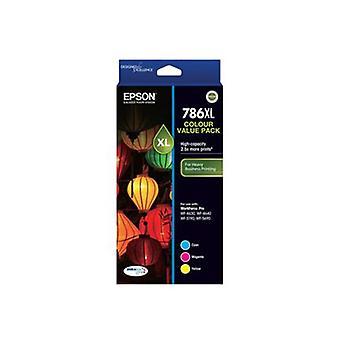 Epson 786XL - High Capacity DURABrite Ultra - Three Colour Value Pack