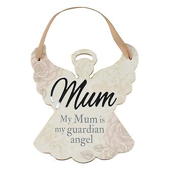 Reflective Words Mum Angel Hanger