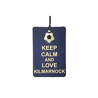 Keep Calm And Love Kilmarnock Car Air Freshener
