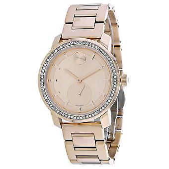 Movado Women's Rose Gold Dial Watch - 3600618