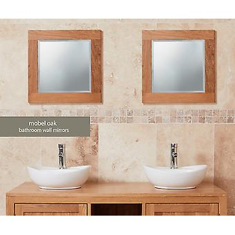 Baumhaus Mobel Oak Bathroom Collection Solid Oak Mirror Small