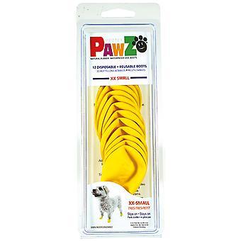 Pawz dog Botas Para Perro Xxs (12Botas) (Hunde , Kleidung , Schuhe und Socken)