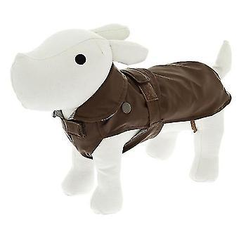 Ferribiella Waterproof Classic Cm.20 Brown (Hunde , Kleidung , Regenmäntel)