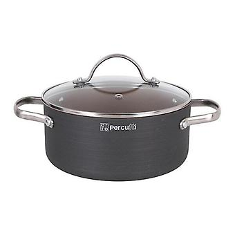 Casserole with lid Percutti Stainless steel 24cm