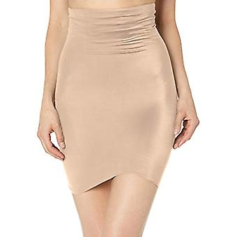 Naomi and Nicole Women's Luxe Shaping Hi Waist Half Slip,, Nude, Size Small