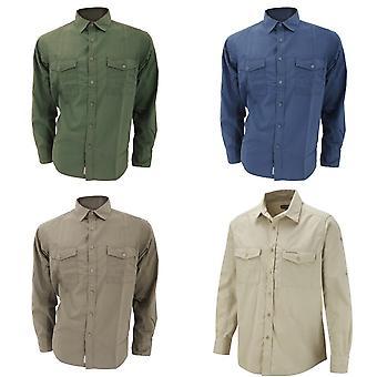 Craghoppers Mens Kiwi Long Sleeve Casual Shirt
