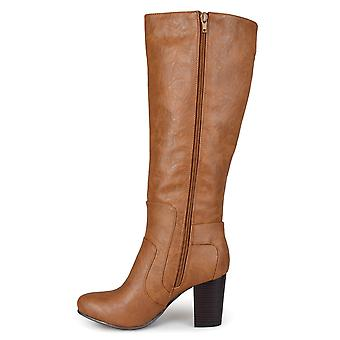 Journee Collection Womens Carver Round Toe Knee High Fashion Boots