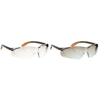 Portwest Fossa Spectacle (PW15) / Glasses / Safetywear / Workwear (Pack of 2)