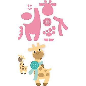 Marianne Design Collectables Cutting Dies - Eline's Giraffe COL1386