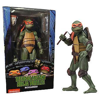 "Teenage Mutant Ninja Turtles 1990 Michelangelo 7"" Figure"