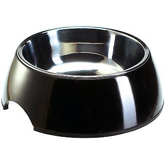 Hunter Melamiini ruokinta Bowl musta (koirat, kulhot, syöttölaitteet & Vesijakelimet)