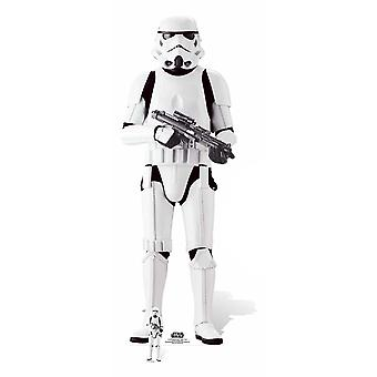 Imperial Stormtrooper Rogue One: A Star Wars Story Lifesize Cardboard Cutout / Standee