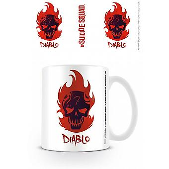 Suicide Squad (Diablo Skull) Mug