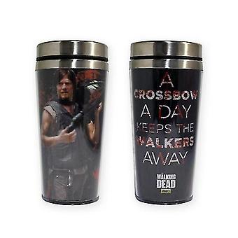 The Walking Dead Daryl Dixon Crossbow Travel Mug