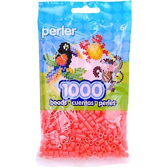 Perler Beads 1,000/Pkg-Hot Coral