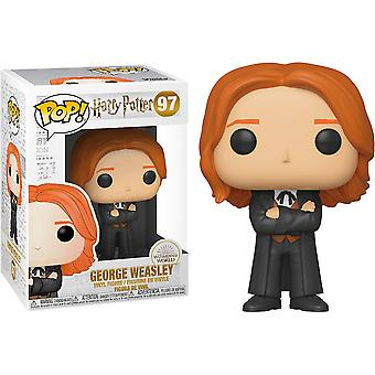 Harry Potter George Weasley (Yule) Pop! Vinile