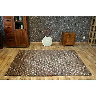 Rug SHADOW 9367 brown / rust