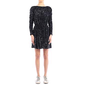 Saint Laurent 611963ybok24240 Women's Blue Nylon Dress