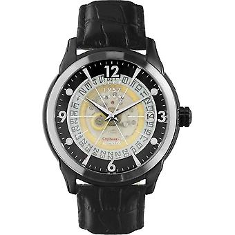 CCCP - Wristwatch - Herrren - SPUTNIK 1 - CP-7001-0C - Black / Black