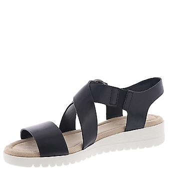 Easy Spirit Women's Shoes Helix Leather Open Toe Casual Gladiator Sandals