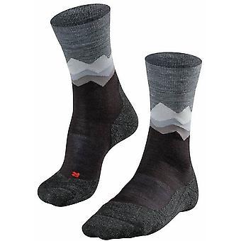 Falke Trekking 2 Crest Socks - Black