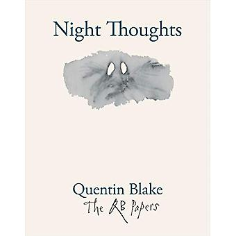 Night Thoughts by Quentin Blake - 9781913119195 Book
