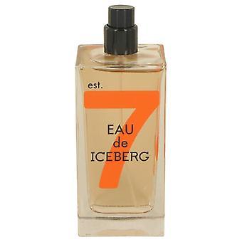 Eau De Iceberg Sensual Musk Eau De Toilette Spray (Tester) By Iceberg 3.3 oz Eau De Toilette Spray
