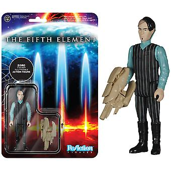 The Fifth Element Zorg ReAction Figure