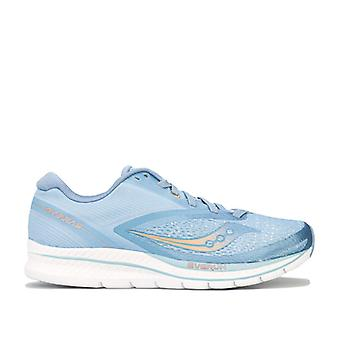 Women's Saucony Kinvara 9 Running Shoes in Blue