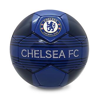 Chelsea FC Official Gift Size 4 Crest Football Blue